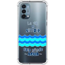 Funda Silicona Antigolpes para OnePlus Nord N200 5G diseño Agua Dibujos