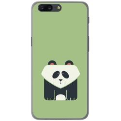 Funda Gel Tpu para Oneplus 5 Diseño Panda Dibujos