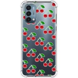 Funda Silicona Antigolpes para OnePlus Nord N200 5G diseño Cerezas Dibujos