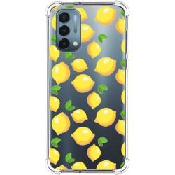 Funda Silicona Antigolpes para OnePlus Nord N200 5G diseño Limones Dibujos