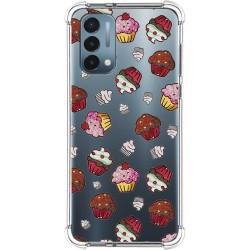 Funda Silicona Antigolpes para OnePlus Nord N200 5G diseño Muffins Dibujos