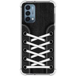 Funda Silicona Antigolpes para OnePlus Nord N200 5G diseño Zapatillas 02 Dibujos