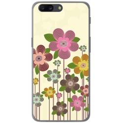 Funda Gel Tpu para Oneplus 5 Diseño Primavera En Flor  Dibujos