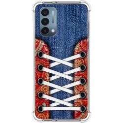 Funda Silicona Antigolpes para OnePlus Nord N200 5G diseño Zapatillas 11 Dibujos