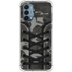 Funda Silicona Antigolpes para OnePlus Nord N200 5G diseño Zapatillas 15 Dibujos