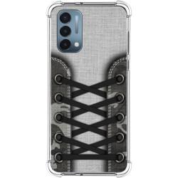 Funda Silicona Antigolpes para OnePlus Nord N200 5G diseño Zapatillas 16 Dibujos