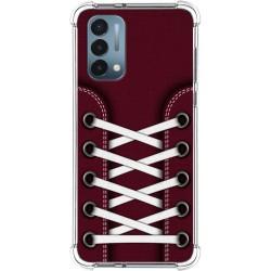 Funda Silicona Antigolpes para OnePlus Nord N200 5G diseño Zapatillas 17 Dibujos