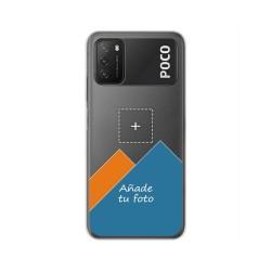 Personaliza tu Funda Pc + Tpu 360 con tu Fotografia para Xiaomi POCO M3 dibujo personalizada