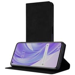 Funda Polipiel con tarjetero para Xiaomi Mi 11 Lite 4G / 5G color Negra