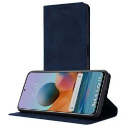 Funda Polipiel con tarjetero para Xiaomi Redmi Note 10 Pro color Azul