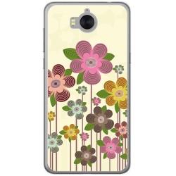 Funda Gel Tpu para Huawei Y6 2017 Diseño Primavera En Flor  Dibujos