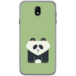 Funda Gel Tpu para Samsung Galaxy J7 (2017) Diseño Panda Dibujos