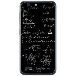 Funda Gel Tpu para Vodafone Smart E8 Diseño Formulas Dibujos