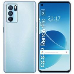Funda Silicona Gel TPU Transparente para Oppo Reno 6 Pro 5G