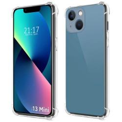 Funda Gel Tpu Anti-Shock Transparente compatible con Iphone 13 Mini (5.4)