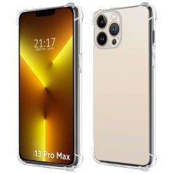 Funda Gel Tpu Anti-Shock Transparente compatible con Iphone 13 Pro Max (6.7)