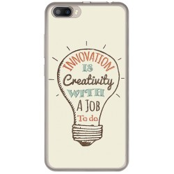 Funda Gel Tpu para Doogee Shoot 2 Diseño Creativity Dibujos