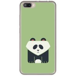 Funda Gel Tpu para Doogee Shoot 2 Diseño Panda Dibujos