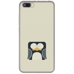 Funda Gel Tpu para Doogee Shoot 2 Diseño Pingüino Dibujos
