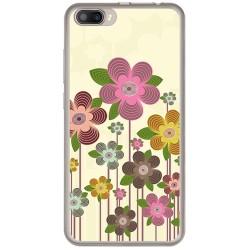 Funda Gel Tpu para Doogee Shoot 2 Diseño Primavera En Flor  Dibujos