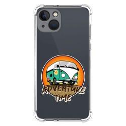 Funda Silicona Antigolpes compatible con Iphone 13 (6.1) diseño Adventure Time Dibujos