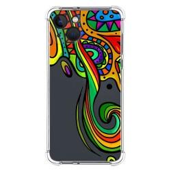 Funda Silicona Antigolpes compatible con Iphone 13 (6.1) diseño Colores Dibujos