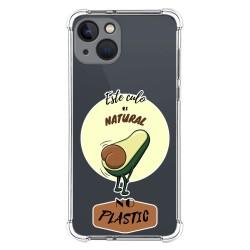 Funda Silicona Antigolpes compatible con Iphone 13 (6.1) diseño Culo Natural Dibujos