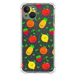 Funda Silicona Antigolpes compatible con Iphone 13 (6.1) diseño Frutas 01 Dibujos