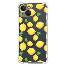 Funda Silicona Antigolpes compatible con Iphone 13 (6.1) diseño Limones Dibujos