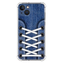 Funda Silicona Antigolpes compatible con Iphone 13 (6.1) diseño Zapatillas 01 Dibujos
