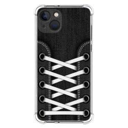 Funda Silicona Antigolpes compatible con Iphone 13 (6.1) diseño Zapatillas 02 Dibujos