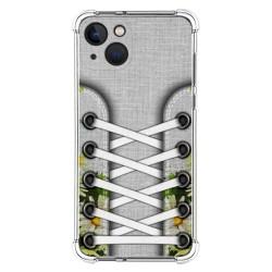 Funda Silicona Antigolpes compatible con Iphone 13 (6.1) diseño Zapatillas 08 Dibujos
