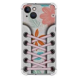 Funda Silicona Antigolpes compatible con Iphone 13 (6.1) diseño Zapatillas 09 Dibujos