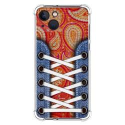 Funda Silicona Antigolpes compatible con Iphone 13 (6.1) diseño Zapatillas 10 Dibujos