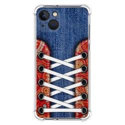 Funda Silicona Antigolpes compatible con Iphone 13 (6.1) diseño Zapatillas 11 Dibujos