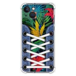 Funda Silicona Antigolpes compatible con Iphone 13 (6.1) diseño Zapatillas 12 Dibujos