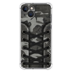 Funda Silicona Antigolpes compatible con Iphone 13 (6.1) diseño Zapatillas 15 Dibujos