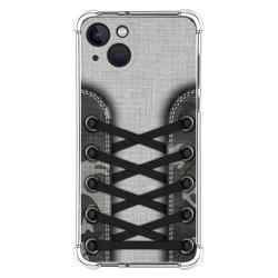 Funda Silicona Antigolpes compatible con Iphone 13 (6.1) diseño Zapatillas 16 Dibujos