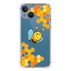 Funda Silicona Antigolpes compatible con Iphone 13 Mini (5.4) diseño Abeja Dibujos