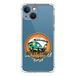 Funda Silicona Antigolpes compatible con Iphone 13 Mini (5.4) diseño Adventure Time Dibujos
