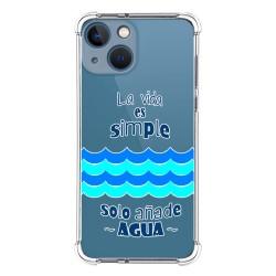 Funda Silicona Antigolpes compatible con Iphone 13 Mini (5.4) diseño Agua Dibujos