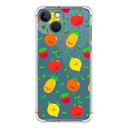 Funda Silicona Antigolpes compatible con Iphone 13 Mini (5.4) diseño Frutas 01 Dibujos