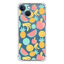 Funda Silicona Antigolpes compatible con Iphone 13 Mini (5.4) diseño Frutas 02 Dibujos