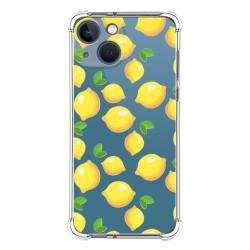 Funda Silicona Antigolpes compatible con Iphone 13 Mini (5.4) diseño Limones Dibujos