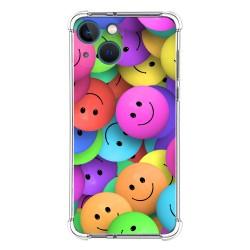 Funda Silicona Antigolpes compatible con Iphone 13 Mini (5.4) diseño Smile Dibujos