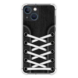 Funda Silicona Antigolpes compatible con Iphone 13 Mini (5.4) diseño Zapatillas 02 Dibujos