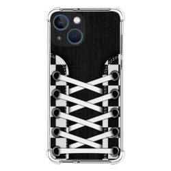 Funda Silicona Antigolpes compatible con Iphone 13 Mini (5.4) diseño Zapatillas 03 Dibujos