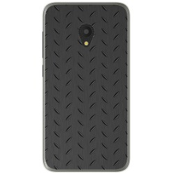 Funda Gel Tpu para Alcatel U5 (4G) / Orange Rise 52 Diseño Metal Dibujos