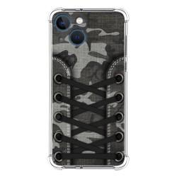Funda Silicona Antigolpes compatible con Iphone 13 Mini (5.4) diseño Zapatillas 15 Dibujos