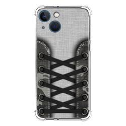 Funda Silicona Antigolpes compatible con Iphone 13 Mini (5.4) diseño Zapatillas 16 Dibujos